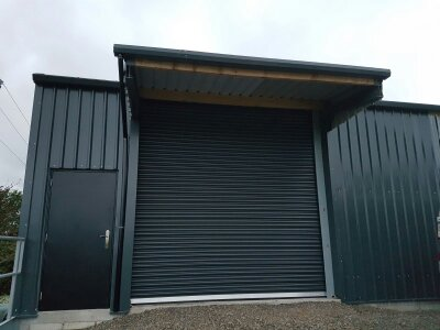 Industrial Roller Doors – Non Insulated