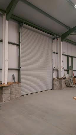 Industrial Insulated Roller door