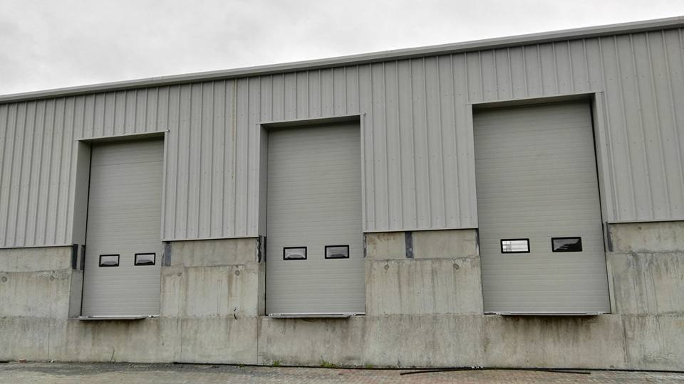 Industrial Sectional Doors – Insulated