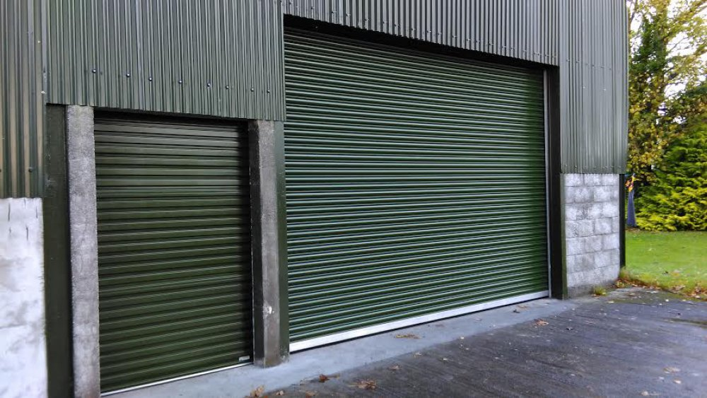 Industrial Roller Doors – Insulated