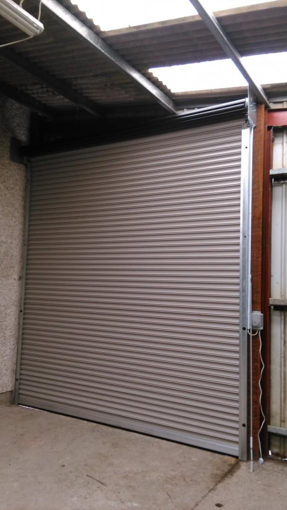 Inside View Industrial Roller Door