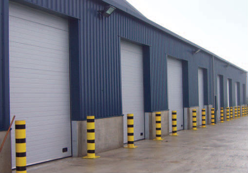 Industrial sectional doors insulated for Premier garage doors