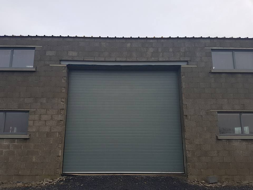 Thermador Industrial Sectional Door front view